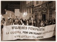 Femenismo sin guerra