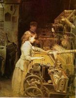 Joan Planella - La tejedora (1882)