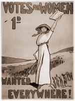 Cartel voto mujer