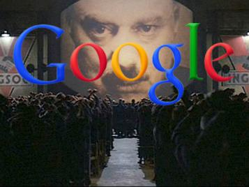 Google 1984 Big Brother
