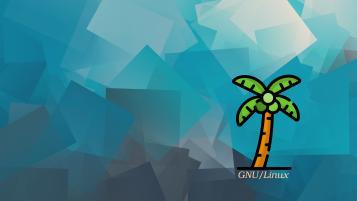 logo: palm tree