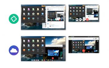 both programs interfaces