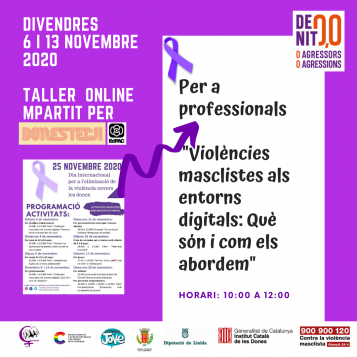 Poster taller professionals