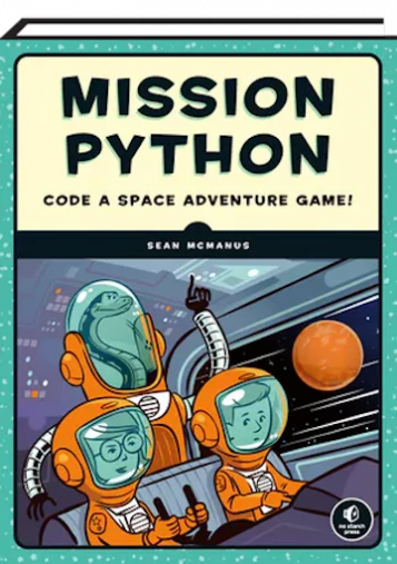 portada d'un dels manuals: xiquets disfraçat d'astronautes