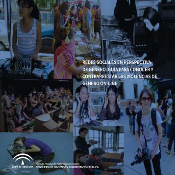 """Portada """"Redes Sociales en perspectiva de género: Guía para conocer y contrarrestar las violencias de género on-line"""""""