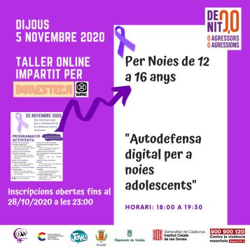 Poster taller noies