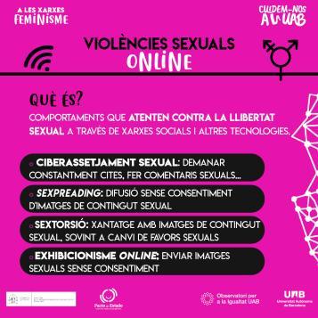 Targeta violències sexuals