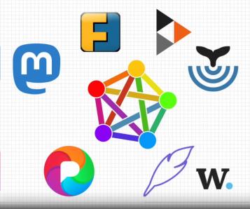 Logos xarxa fediverse