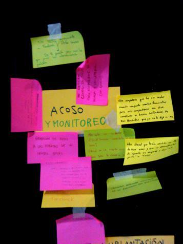 Ataques: Acoso y monitoreo